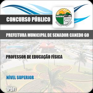 Apostila Pref Senador Canedo GO 2019 Prof Educação Física