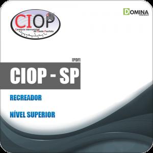 Apostila Processo Seletivo CIOP SP 2019 Recreador