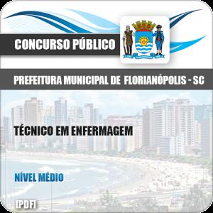 Apostila Pref Florianópolis SC 2019 Técnico em Enfermagem