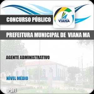 Apostila Concurso Pref de Viana MA 2019 Agente Administrativo