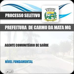 Apostila Pref Carmo da Mata MG 2019 Agente Comunitário Saúde