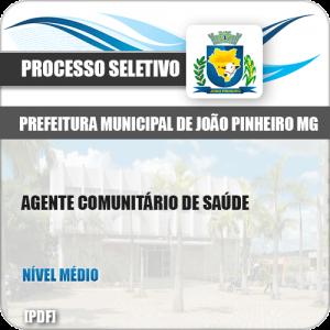 Apostila Pref João Pinheiro MG 2019 Agente Comunitário Saúde