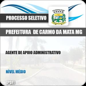 Apostila Pref Carmo da Mata MG 2019 Agente Administrativo