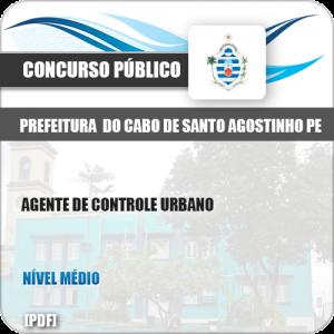 Apostila Cabo Santo Agostinho PE 2019 Agente de Controle Urbano