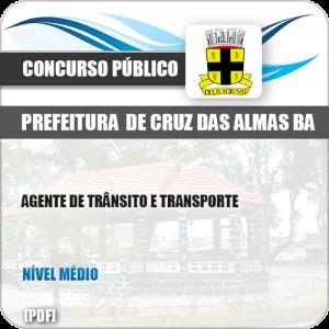 Apostila Pref Cruz das Almas BA 2019 Agente Trânsito Transporte