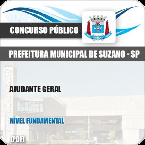 Apostila Concurso Público Pref Suzano SP 2019 Ajudante Geral