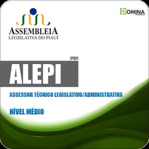 Apostila ALEPI 2019 Assessor Técnico Legislativo Administrativa