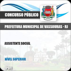 Apostila Concurso Pref Vassouras RJ 2019 Assistente Social