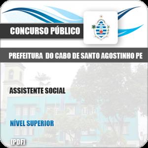 Apostila Pref Cabo Santo Agostinho PE 2019 Assistente Social