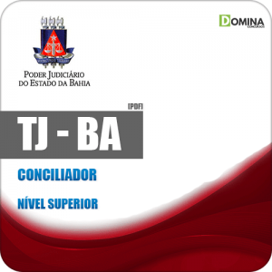 Apostila Processo Seletivo TJ BA 2019 Conciliador