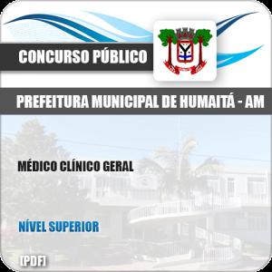 Apostila Concurso Pref Humaitá AM 2019 Médico Clínico Geral