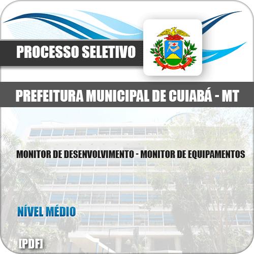 Apostila Pref Cuiabá MT 2019 Monitor de Equipamentos