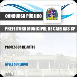 Apostila Concurso Pref Caieiras SP 2019 Professor de Artes