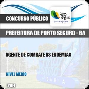 Apostila Pref Porto Seguro BA 2019 Agente Combate Endemias