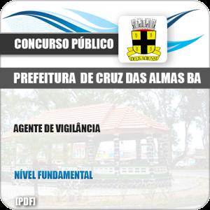 Apostila Pref Cruz das Almas BA 2019 Agente de Serviços Gerais