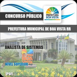 Apostila Seletivo Pref Boa Vista RR 2019 Analista de Sistemas
