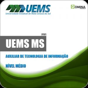 Apostila UEMS 2019 Auxiliar de Tecnologia de Informação