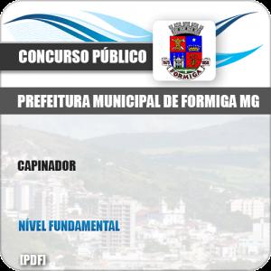 Apostila Concurso Público Pref Formiga MG 2019 Capinador