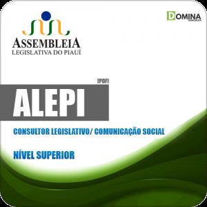 Apostila ALEPI 2020 Consultor Legislativo Comunicação Social