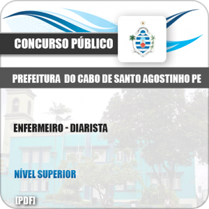Apostila Pref Cabo Santo Agostinho PE 2019 Enfermeiro