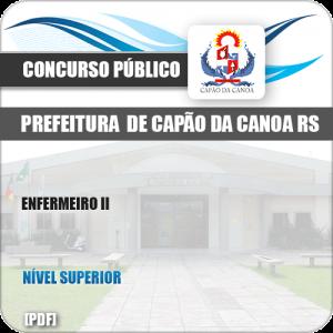 Apostila Concurso Pref Capão da Canoa RS 2019 Enfermeiro II
