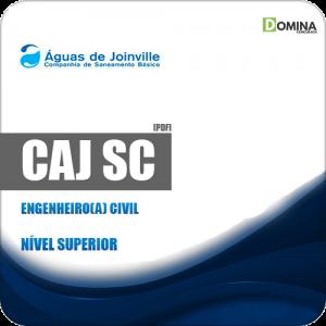 Apostila Concurso Público CAJ Joinville SC 2019 Engenheiro Civil