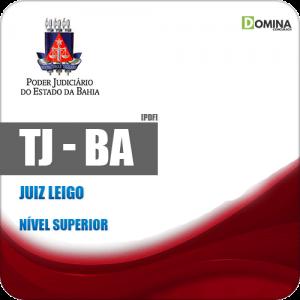 Apostila Processo Seletivo TJ BA 2019 Juiz Leigo