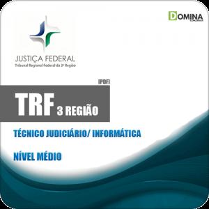 Apostila TRF 3 Região 2019 Técnico Judiciário Informática