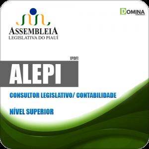 Apostila ALEPI 2020 Consultor Legislativo Contabilidade