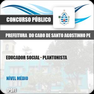 Apostila Cabo Santo Agostinho PE 2019 Educador Social Plantonista