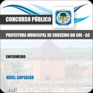 Apostila Concurso Pref Cruzeiro do Sul AC 2019 Enfermeiro