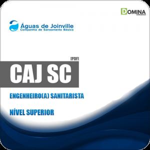 Apostila Concurso CAJ Joinville SC 2019 Engenheiro Sanitarista