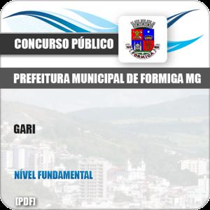 Apostila Concurso Público Pref Formiga MG 2019 Gari