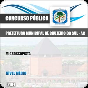 Apostila Concurso Pref Cruzeiro do Sul AC 2019 Microscopista