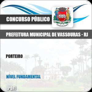 Apostila Concurso Público Pref Vassouras RJ 2019 Porteiro