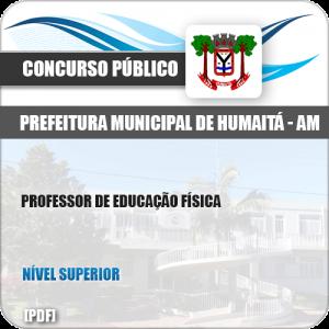 Apostila Concurso Pref Humaitá AM 2019 Prof Educação Física