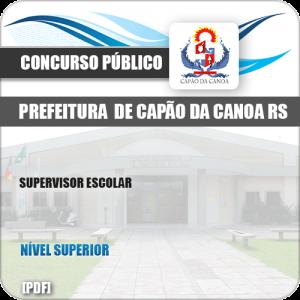 Apostila Concurso Pref Capão da Canoa RS 2019 Supervisor Escolar