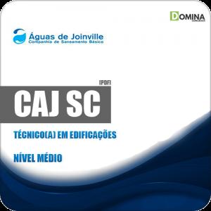 Apostila Concurso CAJ Joinville SC 2019 Técnico em Edificações
