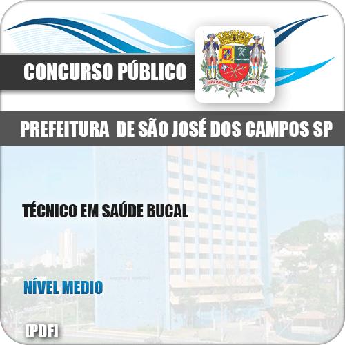 Apostila São José dos Campos SP 2019 Técnico em Saúde Bucal