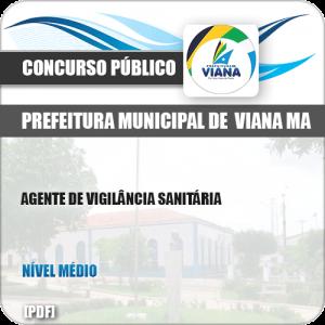 Apostila Pref de Viana MA 2019 Agente de Vigilância Sanitária