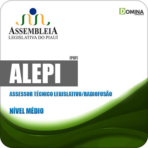 Apostila ALEPI 2020 Assessor Técnico Legislativo Radiofusão
