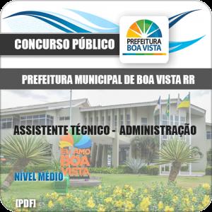 Apostila Pref Boa Vista RR 2019 Assistente de Administração