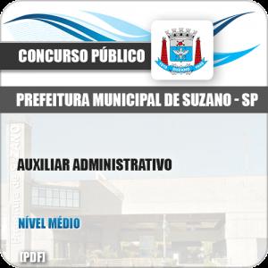Apostila Concurso Pref Suzano SP 2019 Auxiliar Administrativo