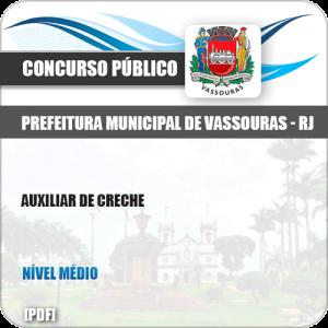 Apostila Concurso Pref Vassouras RJ 2019 Auxiliar de Creche