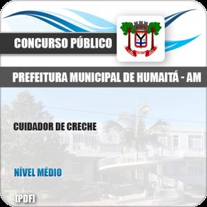 Apostila Concurso Pref Humaitá AM 2019 Cuidador de Creche
