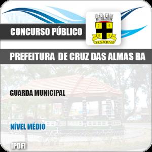 Apostila Pref Cruz das Almas BA 2019 Guarda Municipal