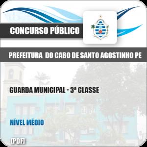 Apostila Cabo Santo Agostinho PE 2019 Guarda 3ª Classe