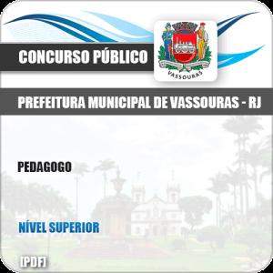 Apostila Concurso Público Pref Vassouras RJ 2019 Pedagogo