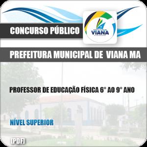 Apostila Pref de Viana MA 2019 Professor de Educação Física