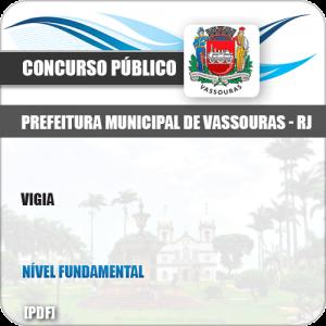 Apostila Concurso Público Pref Vassouras RJ 2019 Vigia
